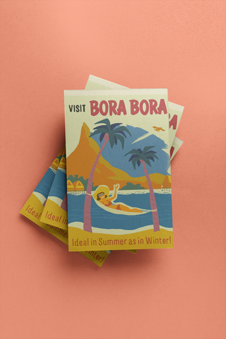Bora Bora - Post Card
