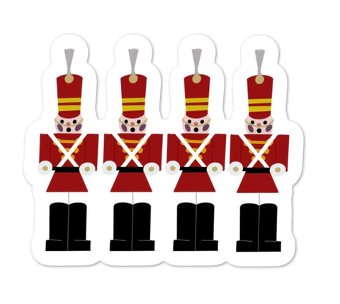 Tin Soldiers Sticker