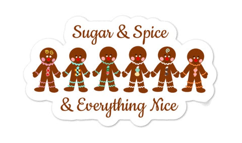 Sugar & Spice Sticker