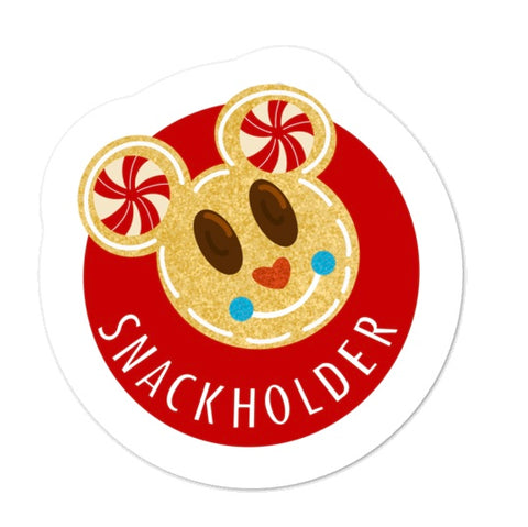 Snack Holder Mickey Krispie Sticker