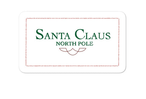 The Santa Clause Sticker