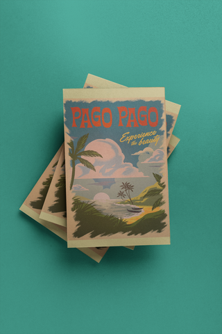 Pago Pago - Post Card