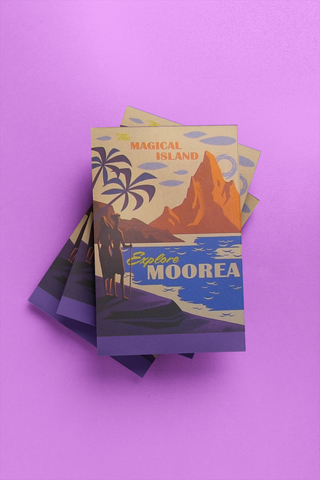 Moorea - Post Card