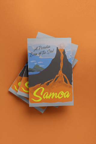 Samoa - Post Card