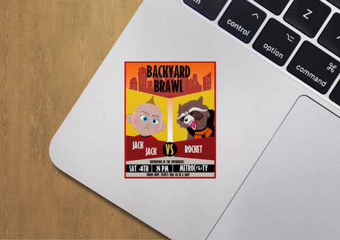 Backyard Brawl - Sticker