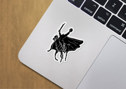 Headless Polo Sticker
