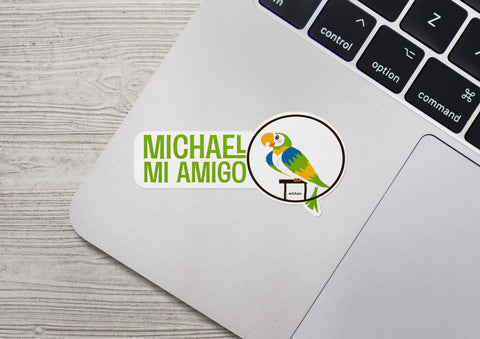 Tiki Bird - Michael Sticker