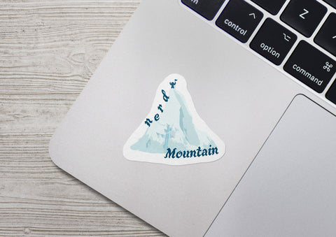 Nerd Mountain Sticker