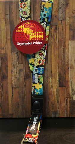 Gryffindor Pride Button