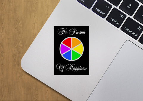 Pursuit of Happiness Sticker