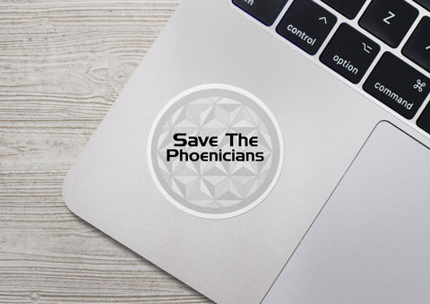 Save the Phoenicians Sticker