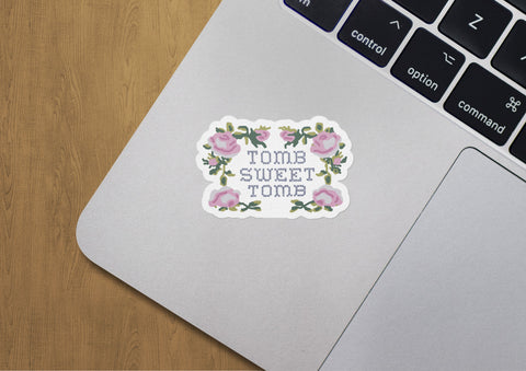 Tomb Sweet Tomb Sticker