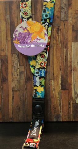 Instagram Rapunzel Wall  Button