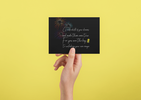 Unlock your Happily Ever After - Post Card