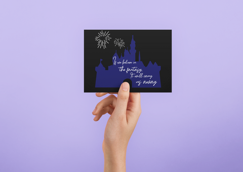 Step into the Magic - Post Card