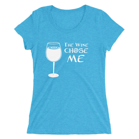 The Wine Chose Me - Women's Scoop Neck