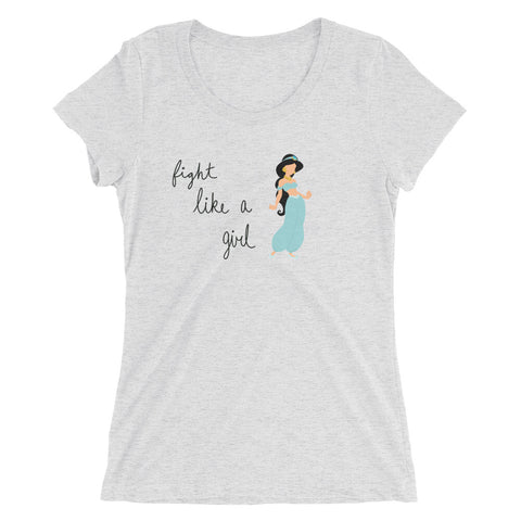 Fight Like Jasmine - Women's Scoop Neck