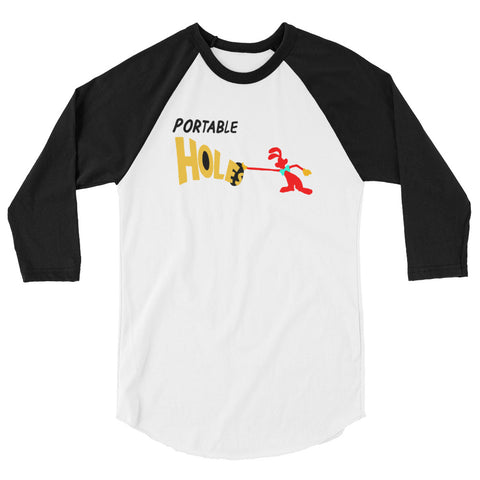 Portable Holes - 3/4 Baseball Tee