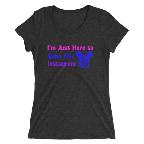 Insta-Photographer - Women's Scoop Neck