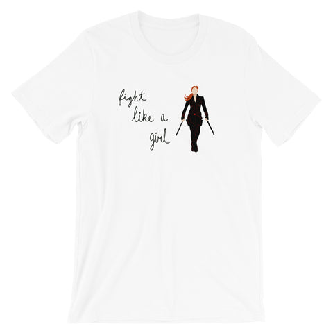 Fight Like Black Widow - Classic Tee (Unisex)