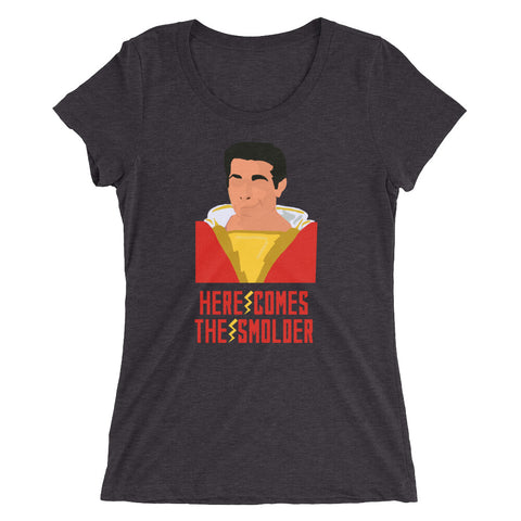 Here Comes the Smolder - Women's Scoop Neck