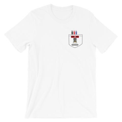 Nerd Herd Badge - Faux Pocket Tee (Unisex)