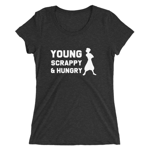 Young, Scrappy, and Hungry - Women's Scoop Neck