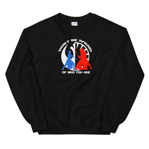 Don't Be Afraid - Crew Neck Sweater (Unisex)