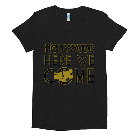 Hollywood Here We Come - Women's Scoop Neck