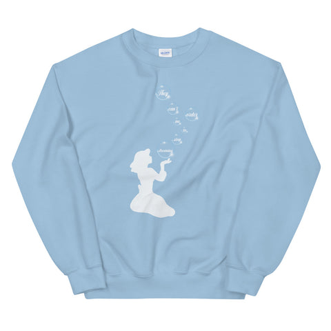 Cinderella - Crew Neck Sweater (Unisex)
