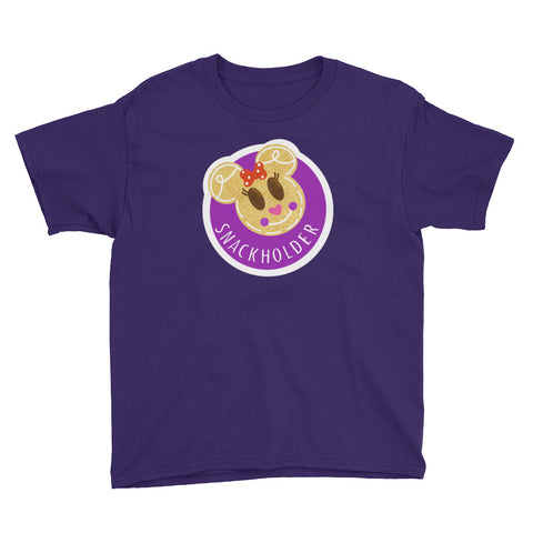 Snack Holder - Minnie Krispie - Youth Tee
