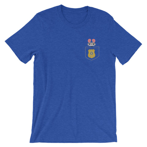 Officer Hopps - Faux Pocket Tee (Unisex)