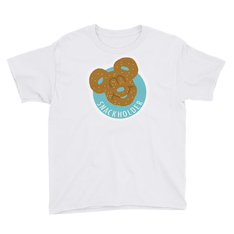 Snack Holder - Pretzel - Youth Tee