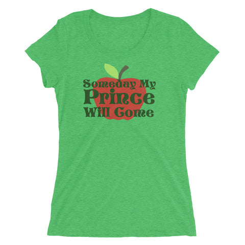 Someday My Prince Will Come - Women's Scoop Neck