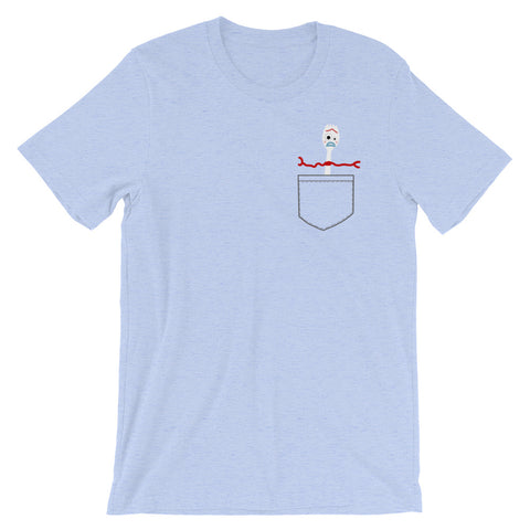 Forky - Faux Pocket Tee (Unisex)