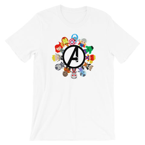 Small World Avengers - Classic Tee (Unisex)