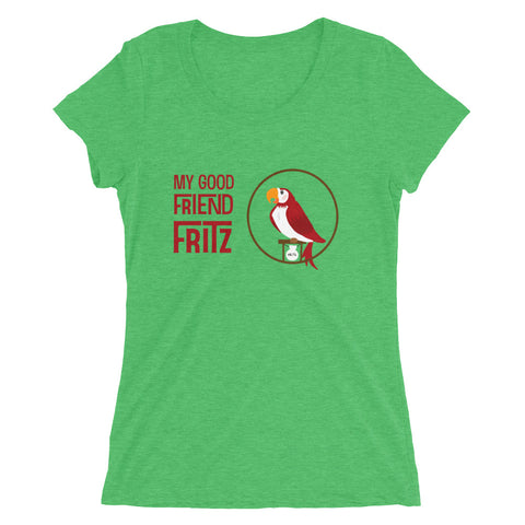 My Good Friend Fritz - Women's Scoop Neck