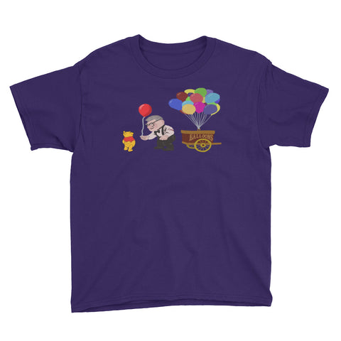 Pooh's Red Balloon - Youth Tee