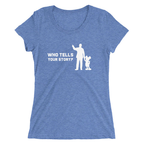 Who Tells Your Story? - Women's Scoop Neck