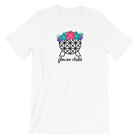Flower Child Spaceship Earth (Type 2) - Classic Tee (Unisex)