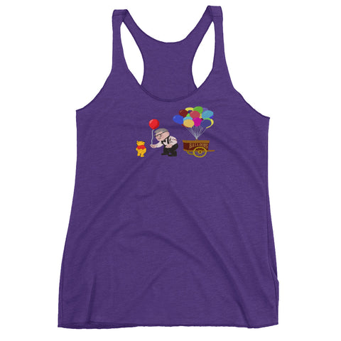 Pooh's Red Balloon - Women's Racerback Tank