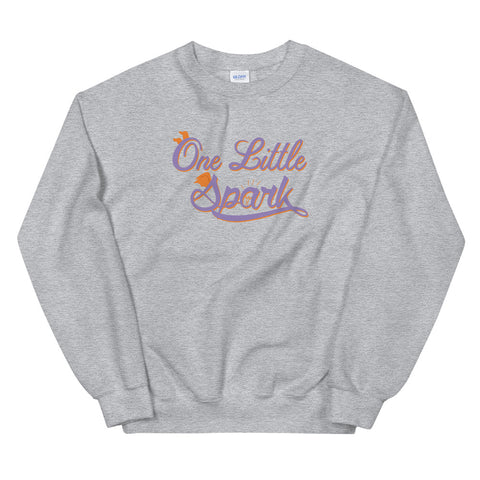 Little Spark - Crew Neck Sweater (Unisex)