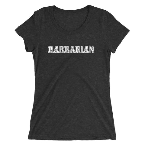 Barbarian Class - Women's Scoop Neck