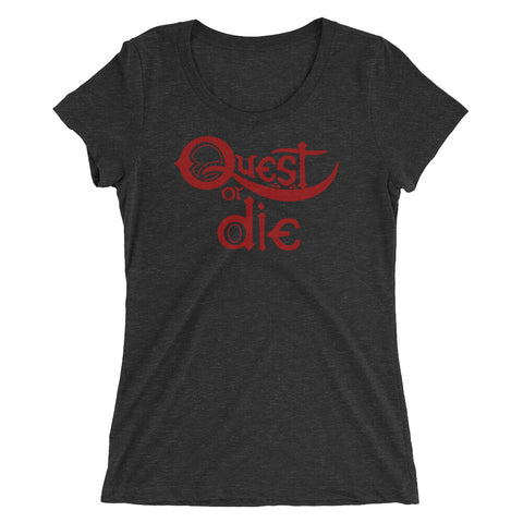 Quest or Die - Women's Scoop Neck