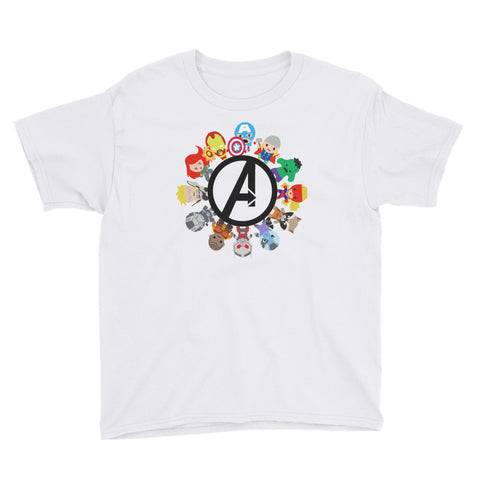 Small World Avengers - Youth Tee