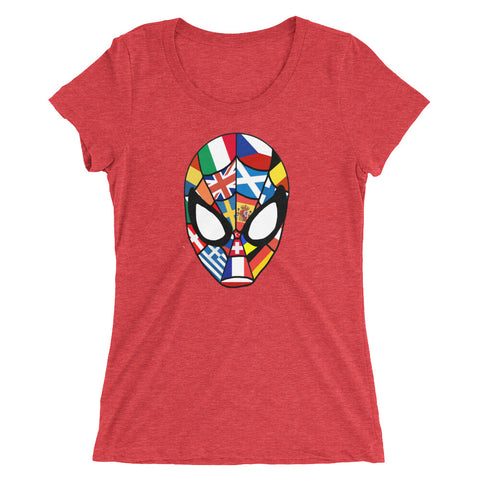Friendly Int'l Spiderman - Women's Scoop Neck