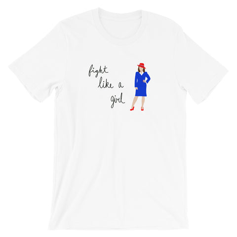Fight Like Peggy Carter - Classic Tee (Unisex)