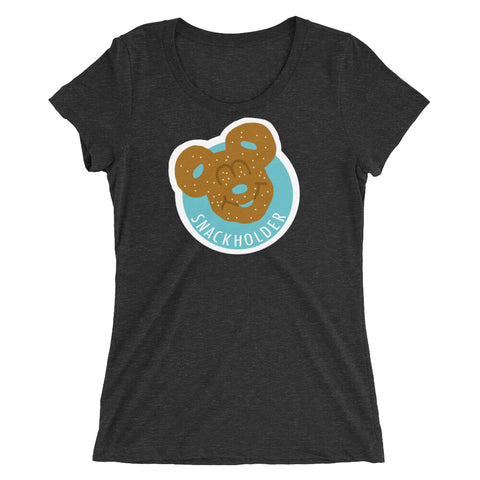 Snack Holder - Pretzel - Women's Scoop Neck