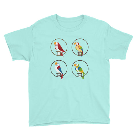 Tiki Birds - Youth Tee