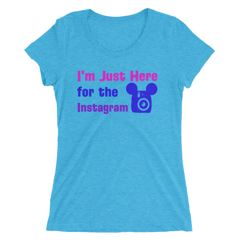 Insta-Model - Women's Scoop Neck